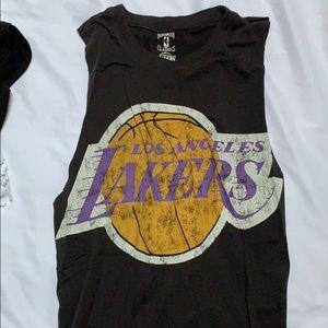 NWOT Retro LA Lakers muscle tank